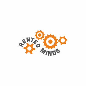 Logotype section: Rented minds